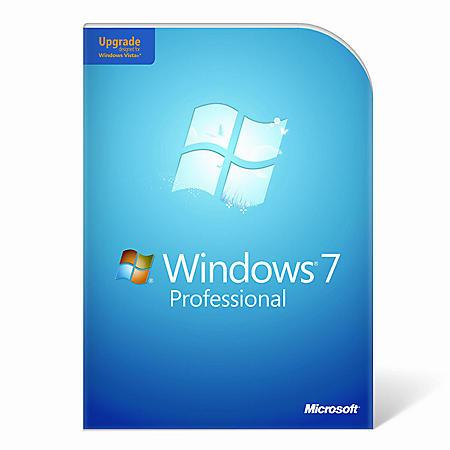 Windows 7 Professional Upgrade