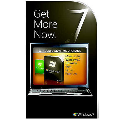 Windows 7 Anytime Upgrade - Premium to Ultimate 1 User