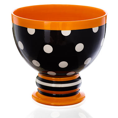 Halloween Candy Bowl - Polka Dot - Sam's Club