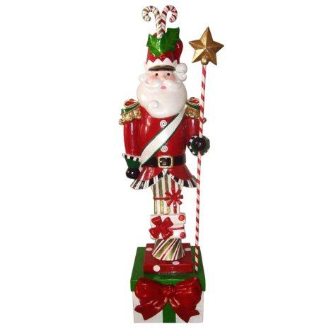 Resin Santa Soldier