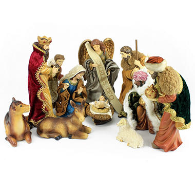 Table Top Nativity Set