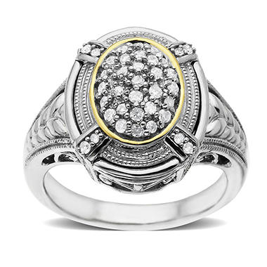 .20TW DI 92514Y RING OVAL DESIGN