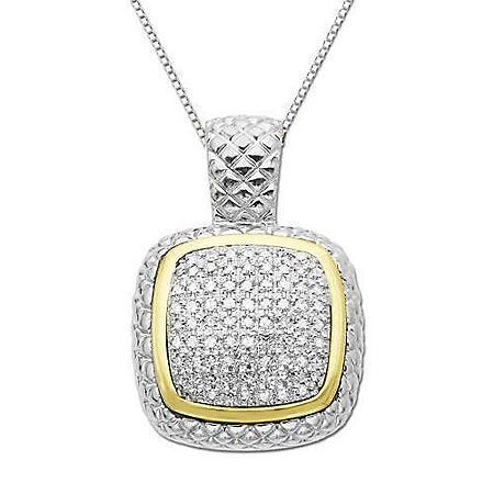 .23 ct. t.w. Pavé Diamond Pendant (H-I, I1)