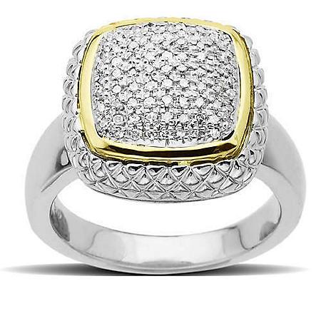 .23 ct. t.w. Pavé Diamond Ring (H-I, I1)