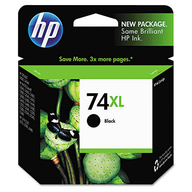 HP HP 74XL, (CB336WN) High Yield Black Original Ink Cartridge