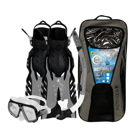 Body Glove Adult Snorkel Set