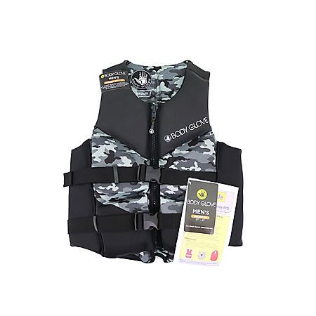 Body Glove Men's Segmented PFD - U.S. Coast Guard-Approved PFD