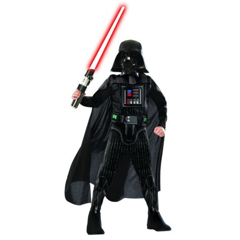 Classic Darth Vader Muscle Chest Halloween Costume