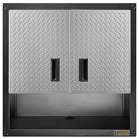 Gladiator 28 Inch Ready To Assemble Steel 2 Door Garage