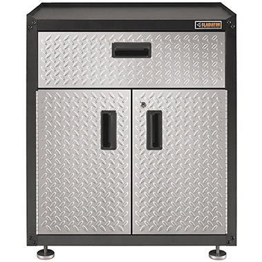 Gladiator 28 Inch Ready To Assemble Steel 2 Door Freestanding Garage