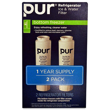 PUR Refrigerator Water Filter - Bottom Mount - 2 ct.