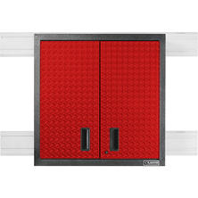 Gladiator 30 Inch Premier Series Pre Assembled Steel 2 Door Garage Wall  Cabinet