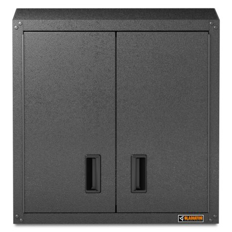 Gladiator 28-inch Ready to Assemble Steel Garage Wall Cabinet in Hammered Granite