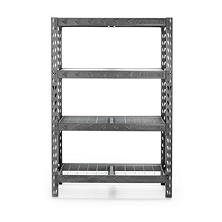 "Gladiator 48"" Wide Heavy-Duty Rack with Four 18"" Deep Shelves"