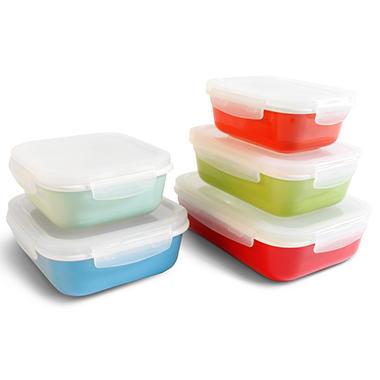 Neoflam 10 Piece CLOC Porcelain Food Storage Set