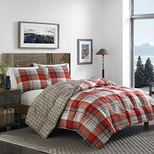Eddie Bauer Alta Plaid Down Alternative Comforter Set (Assorted Sizes)