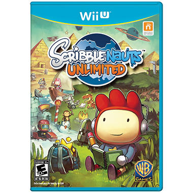 Scribblenauts Unlimited - WiiU
