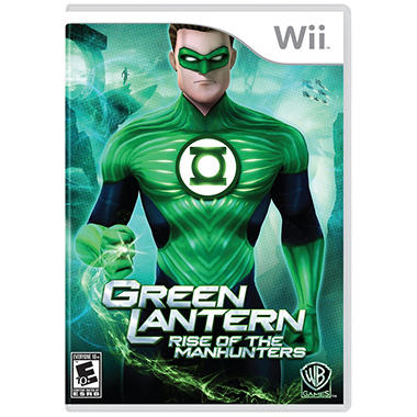Green Lantern: Rise of the Manhunters - Wii