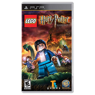 LEGO Harry Potter: Years 5-7 - PSP