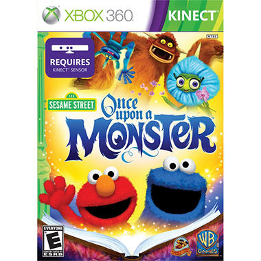 Sesame Street: Once Upon a Monster - Xbox 360 Kinect