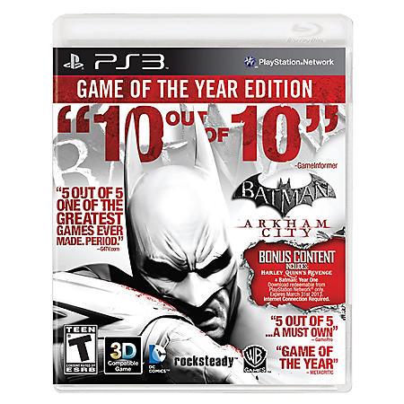 PS3 BATMAN ARK CITY PS3 VIDEO GAME