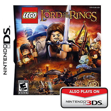 DS LEGO LORD OF RING INLINE CATALOG ASST