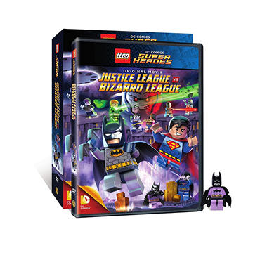 LEGO: DC Comics Super Heroes: Justice League vs. Bizarro League (DVD) (with Figurine)