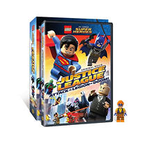 LEGO DC Super Heroes: Justice League: Attack of the Legion of Doom! (DVD)