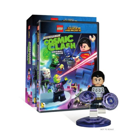 LEGO DC Comics Super Heroes: Justice League: Cosmic Clash (DVD) (w/Figurine)