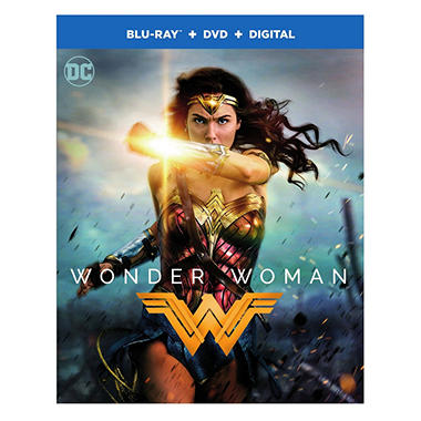 Wonder Woman (Blu-ray + DVD + Digital Combo Pack)