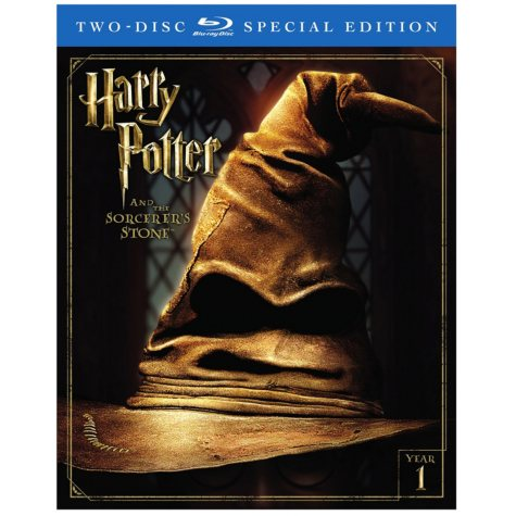 Harry Potter and Sorcerer's Stone (2 Disc Special Edition Blu-Ray + Digital HD Ultra Violet Download)