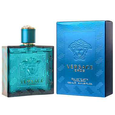 Versace Eros for Men Eau de Toilette Spray (3.4 oz.)