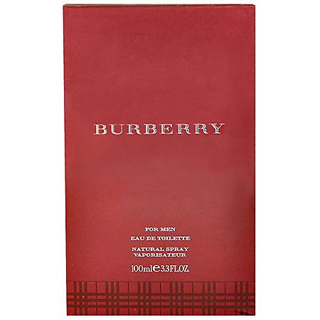 Burberry for Men Eau de Toilette Spray (3.3 oz.)