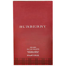 Burberry for Men Eau de Toilette Spray (3.3 oz.)