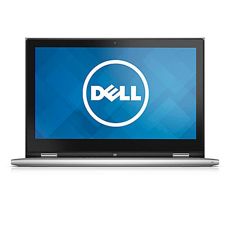 """Dell Inspiron 13.3"""" Convertible Touch Notebook, Intel Core i7-5500U, 8GB Memory, 500 GB Hard Drive with Windows 8.1*FREE UPGRADE TO WINDOWS 10"""