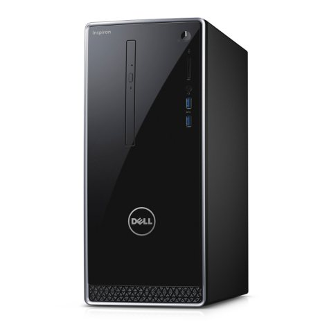 Dell Inspiron Standalone Desktop Tower, Intel Core i5-6400 Processor, 8GB Memory, 1TB Hard Drive, 2GB NVIDIA GeForce 730 GDDR3 Graphics, Optical Drive, Windows 10 Home, Keyboard and Mouse