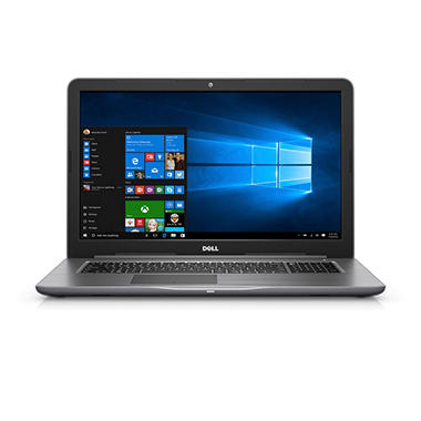 dell inspiron 17 3 hd notebook amd a9 9400 processor 8gb memory 1tb hdd sam 39 s club. Black Bedroom Furniture Sets. Home Design Ideas