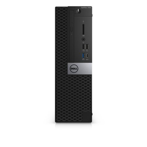 Dell OptiPlex 7050MT Small Form Factor Desktop Tower, Intel Core i7-7700 Processor, 16GB Memory, 256GB SSD Hard Drive, Intel Integrated Graphics, Keyboard and Mouse, Windows 10 Pro 64bit, Includes 3 Year Pro Business Support
