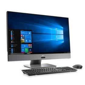 Dell Inspiron 27-inch UHD Narrow Border All in One Desktop, AMD Ryzen 7 1700 Processor, 16GB Memory, 256SSD+1TB HDD, AMD Radeon RX580, wireless keyboard and mouse