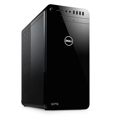 Dell XPS Desktop Tower, Intel Core i7-7700 Processor, 8GB Memory, 1TB HDD, Intel HD Graphics, wired keyboard and mouse, McAfee LiveSafe 12 Month