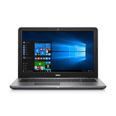 Dell Inspiron 15.6-inch FHD Touch Notebook, Intel Core i7-7500U, 8GB Memory, 1TB HDD, Intel HD Graphics, DVD drive