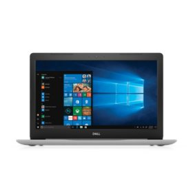 "Dell Inspiron 15.6"" Full HD Notebook, Intel Core i7-8550U Processor, 8GB Memory, 2TB Hard Drive, Intel UHD Graphics 620, McAfee LiveSafe 12 Month Subscription, Backlit Keyboard, Optical Drive, Windows 10, Available in: Platinum Silver, Sparkling White"
