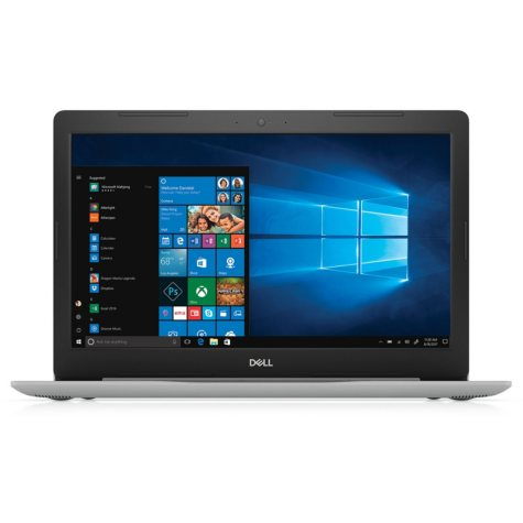 "Dell Inspiron 15.6"" FHD notebook, Intel Core i5-8250U Processor, 8GB Memory, 1TB hard drive, DVD player, fingerprint reader, HDMI, silver"