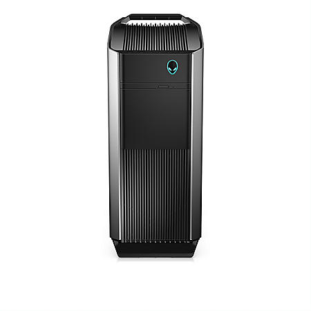 Dell Alienware Gaming Desktop, Intel Core i7 8700 Processor, 16GB Memory + 16GB Intel Optane Memory, 2TB HDD, NVIDIA GeForce GTX 1080 with 8GB GDDR5X, DVD Drive, AW Keyboard and Mouse, 460W Liquid Cooled