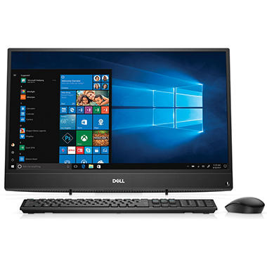 dell inspiron 23 8 fhd touch all in one desktop amd a9 9425