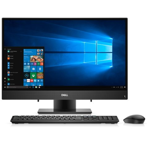 """Dell Inspiron 23.8"""" FHD Touch All-In-One Desktop, Intel Core i3-7130U Processor, 8GB Memory, 1TB HDD, HDMI, wireless keyboard and mouse, HD pop up camera"""