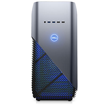 Dell Gaming Desktop, i7-8700 with Intel Turbo Boost, 16GB Memory, 256GB SSD, NVIDIA GeForce GTX 1070 8GB GFX, DVDRW Tray, 12 Month McAfee subscription, wired keyboard and mouse