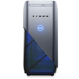Dell Gaming Desktop Tower, Intel Core i7-8700 Processor, 8GB Memory, 1TB + 16GB SSD Hard Drive, 3GB NVIDIA GeForce GTX 1060 Graphics, 2 Year Warranty, Keyboard and Mouse, VR Ready, Clear Side Panel with Blue Interior Chassis Lighting, Windows 10 Home
