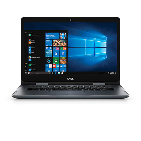 "Dell Inspiron 2-in-1 Touch 14"" HD Notebook,  Intel Core i5-8265U Processor, 8GB Memory, 1TB HDD, Intel UHD Graphics 620 Shared, HDMI"