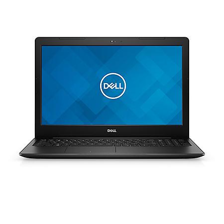 "Dell Inspiron 3585 15.6"" HD Laptop, AMD Ryzen 5-2500U Processor, 4GB Memory, 1TB HDD, Integrated AMD Graphics, DVD-RW, Black"